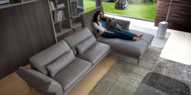 Luxusné kožené sedačky