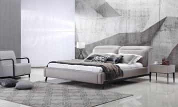 Elegantná manželská posteľ R2D1345