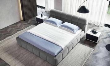Moderná látková posteľ R2D1347