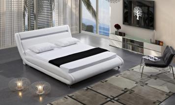 R2D1168 posteľ s LED osvetlením