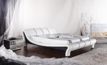 Supermoderná posteľ