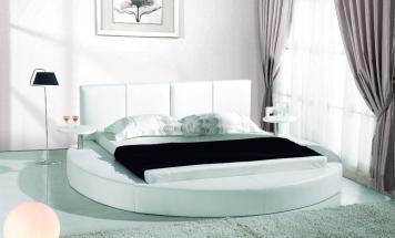 okruhla postel
