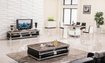 Mramorový stolový set