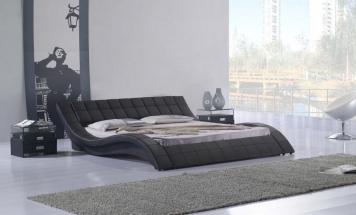R2D1222 posteľ v tvare vlny