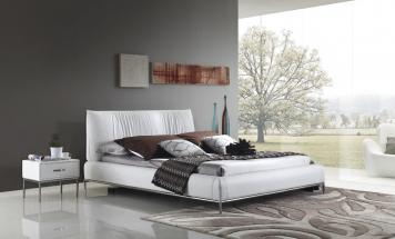 Kožená posteľ R2D1301