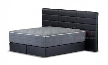 R2D2100 kontinentálna posteľ vzor obdĺžnik