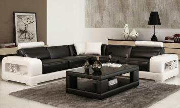 R2D702L luxusná kožená sedačka