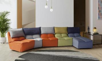 Talianska modulárna sedačka Modica