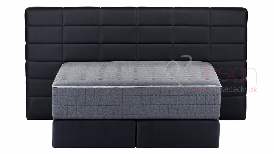 R2D2100 kontinentálna posteľ čierna.jpg