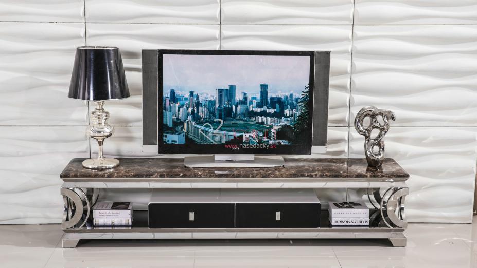 TV stolík s hnedého mramoru.jpg