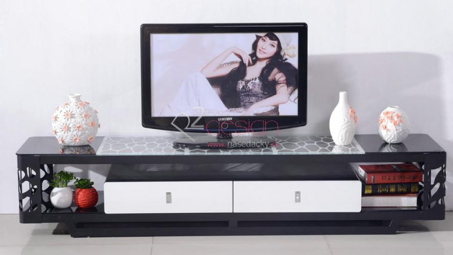 Čierny TV stolík so sklom.jpg