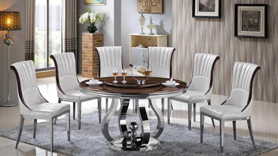 Okrúhly mramorový stôl R2D1270