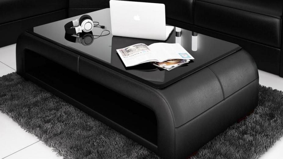R2D1043 zaoblený stolík