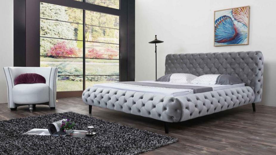 R2D1159 posteľ chesterfield