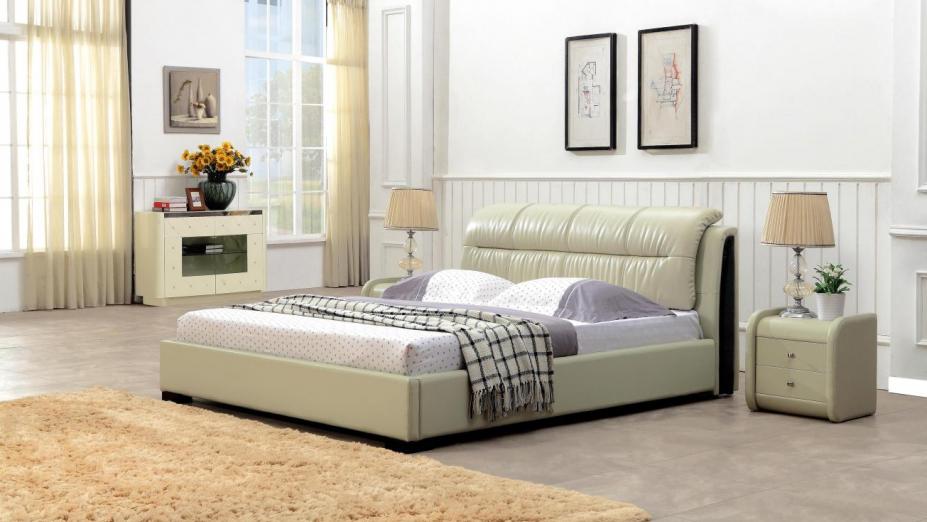 R2D1162 posteľ s pohodlným čelom