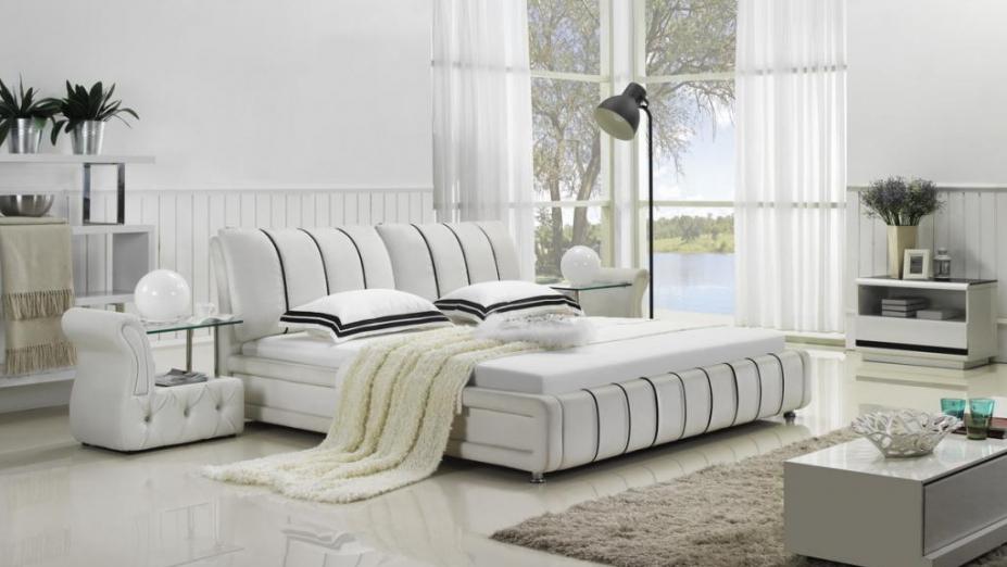 R2D1178 posteľ s pásikmi