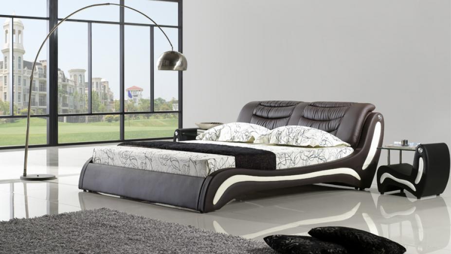 R2D1190 posteľ s prešívaným čelom
