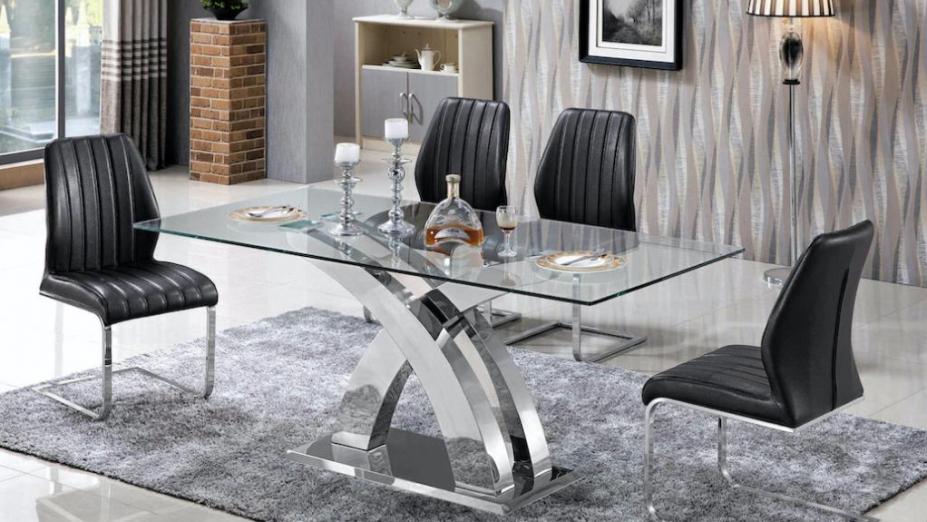 R2D1229J jedálenský sklenený stôl