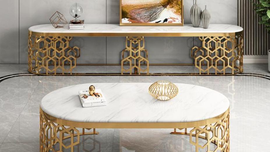 R2D1257 luxusné mramorové stoly