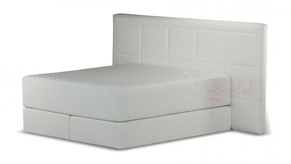 R2D2102 kontinentálna posteľ vzor štvorec