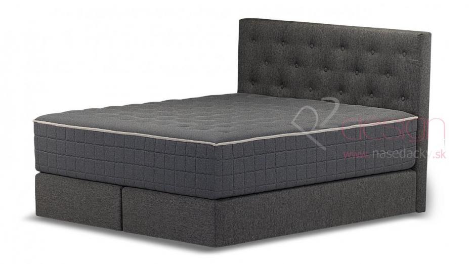 R2D2110 kontinentálna posteľ gombíkový vzor