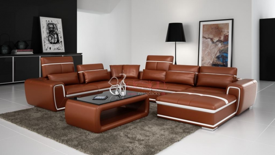 R2D719 luxusná sedačka s opierkami