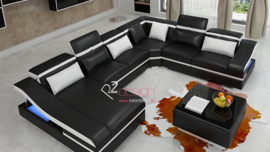 R2D773 sedačka s opierkami