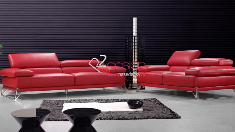R2D840 červená sedačka